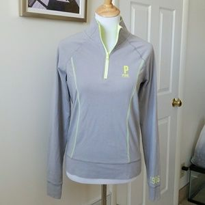 Pink Victoria Secret pull over size SMALL